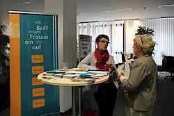 FrauenWirtschaftsTage 2016: Neue Wege - neue Chancen, Agentur für Arbeit Stuttgart, 14.10.2016. Foto: Meike Augustin, WRS.