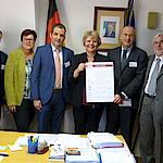 Pressekonferenz 6.12.2016, Italienisches Generalkonsulat Stuttgart: Unterzeichnung der Absichtserklärung (Foto: Emilio Montini/Italienisches Generalkonsulat Stuttgart)